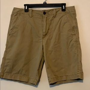 Tan American Eagle Classic shorts size 33
